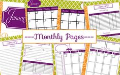 The Book Lady Planner, an Organizing Help for Usborne Consultants!