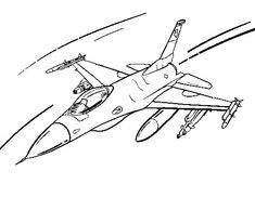 Military fighter jet coloring pages ~ 47 Best Smooth Airplane Coloring Pages images in 2019 ...