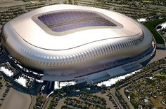 Monterrey Futbol Stadium in Monterrey, NL, Mexico. Home of CF Monterrey. It is currently in construction and will be ready by July 2015. CF Monterrey will host FC Barcelona in the inauguration of the stadium.