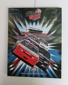 Daytona 500 Program Official Souvenir 2000 Melinneum Edition Lineup & Race CD