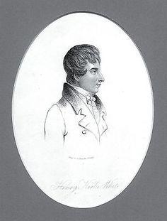 Henry Kirke White - English Poet (1785-1806) Eng. after Thomas Barber - c1810