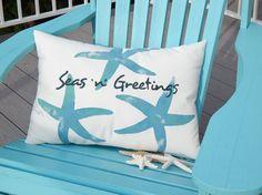 Seas 'n' Greetings Starfish Pillow