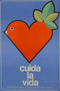 1980s Cuban posters  via identical eye