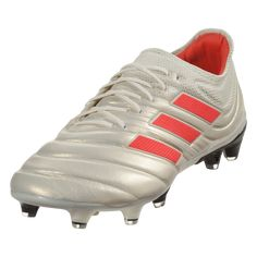 brand new fc927 20461 adidas Copa 19.1 FG Firm Ground Soccer Cleat Off White Solar Red Off  White-6.5