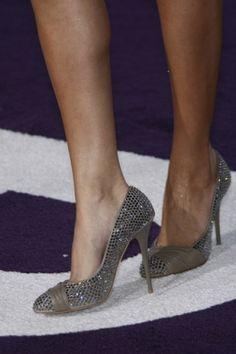 Giuseppe Zanotti Studded Sash Pumps - Selena Gomez #shoes #fashion #celebrity