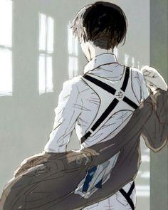 I reeeeeally love Levi's back *^*