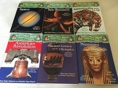 Magic Tree House RESEARCH GUIDES Lot Set /6 * Fun History & Science Fact Books