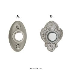 A Homeu0027s Doorbell Can Make An Important First Impression. Which Do You  Prefer? Baldwin