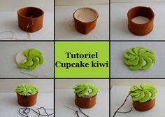 cupcake kiwi tutoriel (avec patron)
