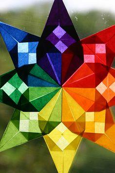 Rainbow star from Ann's photostream via Flickr