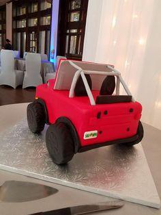 Grooms Jeep Cake 2