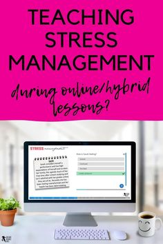 Stress management has always been an important tool for our students, however during the current climate of learning through a pandemic, stress has taken on a whole other level and is more important than ever to be able to manage. If you're looking for ways to help teach stress management during these challenging times, then keep reading. Free Teaching Resources, Help Teaching, Teacher Resources, Teaching Ideas, High School Classroom, High School Students, Classroom Ideas, Behaviour Management, Stress Management