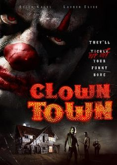 TERROR EN EL CINE. : CLOWNTOWN. (TRAILER 2016)