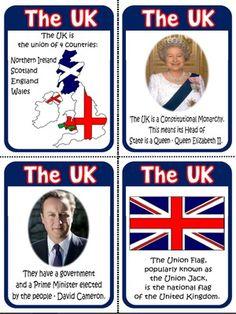 The United Kingdom - Flashcards