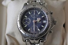 Catawiki, pagina di aste on line  TAG Heuer - Automatic chronograph 200mt - CG 2111-RO - Uomo - 1990-1999 Tag Heuer Automatic, Omega Watch, Chronograph, 1990, Tags, Accessories, Mailing Labels, Jewelry