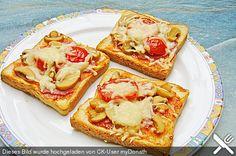 Pizza - Toast (Rezept mit Bild) von Maverick10240 | Chefkoch.de