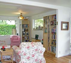 #Chair #Couch #PictureWindow #Light #SideTable #Bookcase #Livingroom