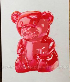 Gummy Bear Drawing by Pony Lawson by PonyLawson on DeviantArt