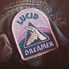 Hey, I found this really awesome Etsy listing at https://www.etsy.com/listing/464513781/lucid-dreaming-patch-metaphysical