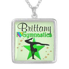 GORGEOUS GREEN PERSONALIZED http://www.zazzle.com/mysportsstar/gifts?cg=196939596348774113&rf=238246180177746410  #Gymnastics #Gymnast #IloveGymnastics #Gymnastgifts #WomensGymnastics #personalizedGymnast #Gymnasticsgirl GYMNASTICS NECKLACE