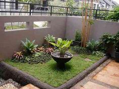 petit jardin amenagé dans un espace réduit