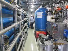 Esta es la planta de tratamiento de lixiviados en el relleno sanitario 'Los Picachos', que ya tiene un mes de funcionamiento.