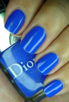 Dior - Electric Blue (LE Anselm Reyle Collection, Feb 2012)