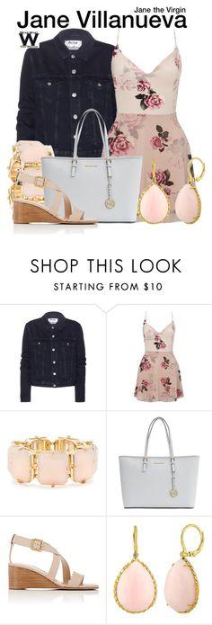 """""""Jane the Virgin"""" by wearwhatyouwatch ❤ liked on Polyvore featuring Acne Studios, Lipsy, R.J. Graziano, MICHAEL Michael Kors, Chloé, television and wearwhatyouwatch"""