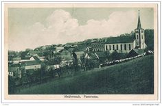 Panorama Medernach in the old days