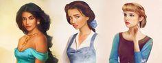 Si vous vous demandez à quoi ressembleraient les princesses #Disney si elles existaient vraiment, voici la réponse en images grâce à un graphiste finlandais.