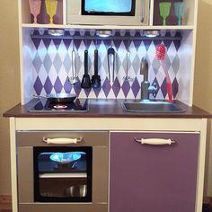 Ikea kinderküche gepimpt  DIY: Wir pimpen unsere Kinderküche Duktig + Zubehör | Ikea ...
