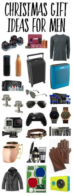 The BEST Christmas gift ideas for men!