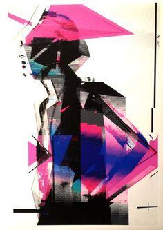 "Fashion illustrated ""Bit Drift"" by Dayvid LeMmon"