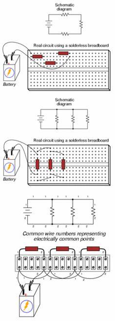 Translating Circuit Diagrams to Real Circuits