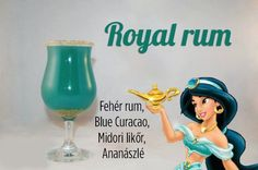 """""""Rebel Royal"""" - white rum, blue curacao, midori, pineapple juice Cocktails by Cody Disney Cocktails, Cocktail Disney, Disney Themed Drinks, Disney Alcoholic Drinks, Disney Mixed Drinks, Blue Curacao, Curacao Azul, Party Drinks, Cocktail Drinks"""