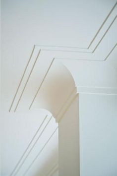 This Is Another Example Of A Cove Style Crown Moulding But With Double Layer Buildup On The Ceiling Bit More Formal Could Still Work