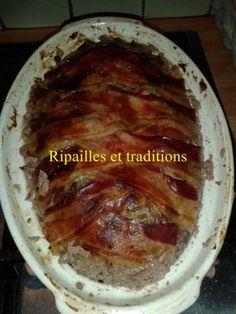 ripailles et traditions, recette facile de pâté de campagne, terrine de pâté aux cèpes, noisette, terrine d'automne