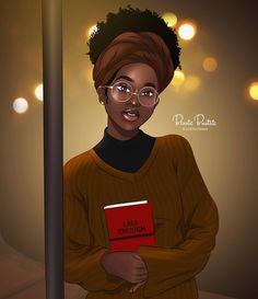 I Am Enough By Bennie Buatsie Mini Art Print by Bennie Buatsie Illustrations - Without Stand - x Black Love Art, Black Girl Art, Black Girl Magic, Art Girl, African American Art, African Art, Drawings Of Black Girls, Natural Hair Art, Black Girl Cartoon