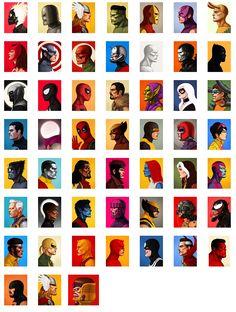 Mike Mitchell x Marvel x Mondo