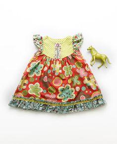 Matilda Jane Platinum SPROUT FLUTTER DRESS $72.00 | Code: PLATTPD39