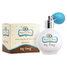 Pamper Your Dog With Perfume For Christmas: Pepper and Tanky Dog Perfume