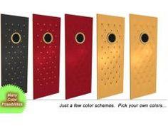 Theater doors  sc 1 st  Pinterest & Home Theater Premium Door Panel SKU #: Premiumpanelcircle You save ...