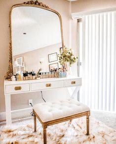 Home Decoration Bedroom .Home Decoration Bedroom Bedroom Vintage, Parisian Bedroom, Home Bedroom, Bedroom Decor, Mirror Bedroom, Bedroom Furniture, Bedroom Vanities, Bedrooms, Modern Bedroom