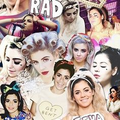 Pic collage of marina and Lana