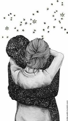 Image discovered by Zoridiel López Díaz. Find images and videos about love, art and couple on We Heart It - the app to get lost in what you love. Tumblr Wallpaper, Love Wallpaper, Wallpaper Backgrounds, Iphone Wallpaper, Drawing Sketches, Art Drawings, Couple Drawings, Couple Art, Cute Love