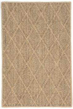 Diamond Natural Sisal Woven Rug