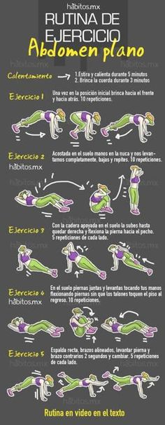 p/rutina-de-ejercicio-abdomen-plano-ej - The world's most private search engine Gym Workouts, At Home Workouts, Yoga Fitness, Health Fitness, Bikini Workout, Gym Time, Health Coach, Excercise, Healthy Life