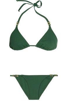 MELISSA ODABASH  Denver triangle bikini