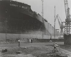 'Launch of the supertanker, Everett F. Wells, Wallsend, Tyneside', Chris Killip, 1976, printed 2012-13 | Tate