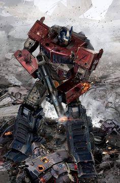 IDW Transformers TCM Variant by uncannyknack on DeviantArt Science Fiction, Science Art, Comic Art, Comic Books, Transformer 1, Marvel E Dc, Transformers Optimus Prime, Grimlock Transformers, Super Robot